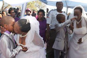 9-latek poślubił 62-latkę! Mogłaby być jego babcią... (WIDEO)