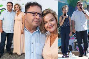 Monika i Zbyszek z córką na Festiwalu Zaczarowanej Piosenki (ZDJĘCIA)