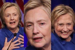 Tak wygląda Hillary Clinton po przegranej z Trumpem (ZDJĘCIA)