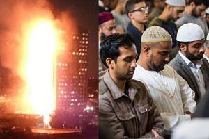 Muzułmanie uratowali życie mieszkańcom płonącego wieżowca w Londynie!
