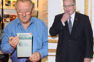 """Adam Michnik: """"Komorowski przegra wybory tylko, jeśli pijany przejedzie na pasach zakonnicę w ciąży"""""""