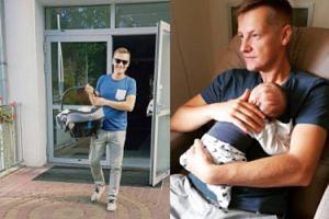 Marcin Mroczek pokazuje nowe zdjęcia z synem