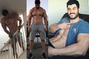 """CIACHO TYGODNIA: DWUMETROWY instruktor fitnessu, który wygląda jak """"grecki posąg""""! (ZDJĘCIA)"""