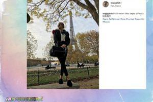 Narzeczona Rutkowskiego pozuje w Paryżu