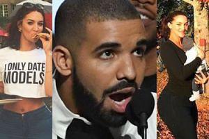 """Matką """"sekretnego dziecka"""" Drake'a jest gwiazda porno? Sophie Brussaux pokazała syna! (ZDJĘCIA)"""