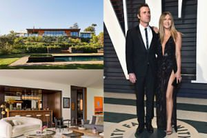 Aniston już sprzedaje willę w Los Angeles! Wzięła w niej ślub z Justinem... (ZDJĘCIA)