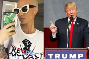 """Amber Rose o Trumpie: """"Chciałabym, żeby miał problemy. Nie potrafię zliczyć, ile razy ktoś znany dotykał mnie w niewłaściwy sposób"""""""