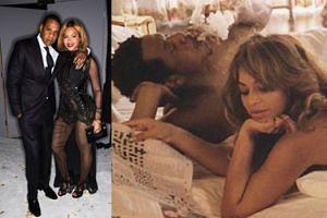 Beyonce i Jay-Z promują trasę koncertową... wspólnym zdjęciem w łóżku! (FOTO)