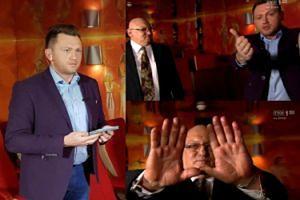 """Pogodynek TVP ładuje widzów """"pozytywną energią"""". """"Proszę wyciągnąć ręce przed telewizor, a ja telewidzom Jedynki przekazuję potężną dawkę energii!"""""""