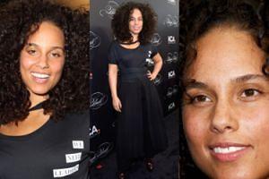 Alicia Keys znów bez makijażu na imprezie w Nowym Jorku (ZDJĘCIA)