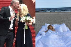 """Bujakiewicz o ślubie: """"Nie chciałam się przebierać za dziewicę w białej sukni"""""""