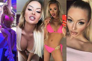 """""""Królowa Ring Girls"""" promuje swoje wdzięki na Instagramie. Nowa """"polska Barbie""""? (ZDJĘCIA)"""