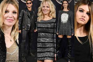 """Pamela Anderson, Courtney Love i """"najpiękniejsza dziewczynka świata"""" na imprezie w Paryżu (ZDJĘCIA)"""