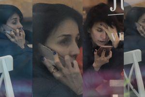 Zdruzgotana Kołakowska kłóci się przez telefon (ZDJĘCIA)