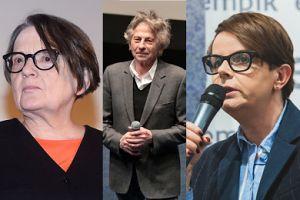 """Korwin-Piotrowska i Holland komentują wyrzucenie Polańskiego z Akademii Filmowej: """"Czekamy na wiele innych nazwisk"""""""