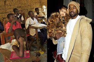Kanye uważa, że należy mu się większa pomoc niż... 42 MILIONOM DZIECI w Afryce!