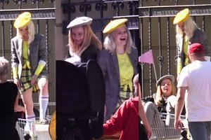 Margaret nagrywa teledysk na ulicy... Wystąpi w SKLEPOWYM WÓZKU!