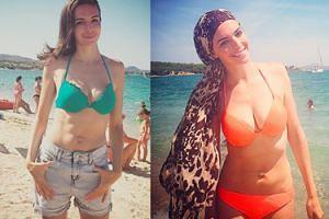 Anna Wendzikowska chwali się płaskim brzuchem!