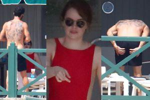 Roznegliżowany były mąż Jennifer Aniston na randce (?) z Emmą Stone (ZDJĘCIA)