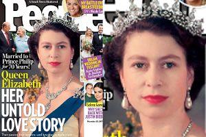 """""""People"""" opowiada """"nieznaną historię"""" miłości królowej Elżbiety i księcia Filipa z okazji 70. (!) rocznicy ślubu (FOTO)"""