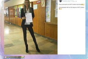 Urszula Radwańska skończyła studia