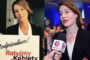 """Ostaszewska o prawach kobiet: """"Życie w Polsce jest jak w PATOLOGICZNEJ RODZINIE. To ciągły strach!"""""""