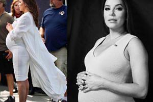Eva Longoria pokazała OGROMNY brzuch ciążowy! (FOTO)