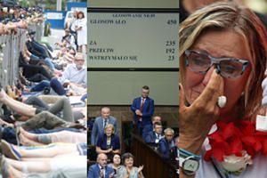 Sejm przegłosował ustawę o Sądzie Najwyższym. Protesty trwają! (ZDJĘCIA)