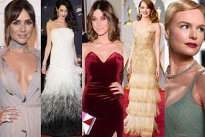 NAJLEPSZE stylizacje lutego: Stone, Clooney, Kamińska, Żmuda Trzebiatowska... (ZDJĘCIA)