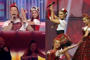 """Greckie """"Twoja twarz brzmi znajomo"""": rosły wokalista przebrany za Cleo! (FOTO+WIDEO)"""