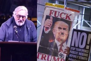 """De Niro znowu krytykuje Trumpa: """"On mówi, że nasz kraj jest wysypiskiem śmieci. Serio?"""""""