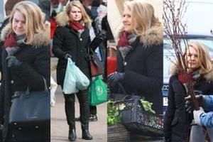 Małgorzata Tusk z torebką za 7 TYSIĘCY robi świąteczne zakupy na bazarku (ZDJĘCIA)