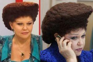 Hit Internetu: Fryzura rosyjskiej polityk Walentyny Petrenko (ZDJĘCIA)