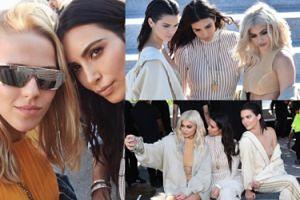Kardashianki i... Jessica Mercedes na pokazie Kanye Westa (ZDJĘCIA)
