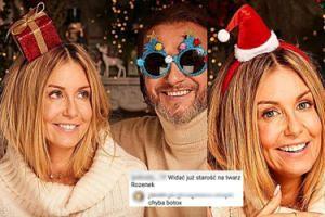 """Świąteczna atmosfera na Instagramie Rozenek: """"BOTOKS WYCHODZI JEJ NA TWARZ"""""""