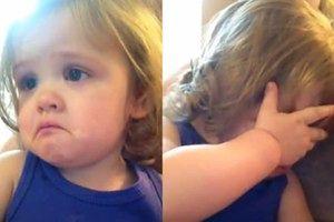 Dziewczynka płacze przy ślubnej piosence rodziców!