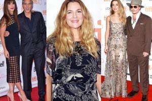 Depp z żoną, Clooney z Sandrą Bullock i Drew Barrymore w Toronto (ZDJĘCIA)