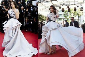Aishwarya Rai w Cannes: hit czy kit? (ZDJĘCIA)