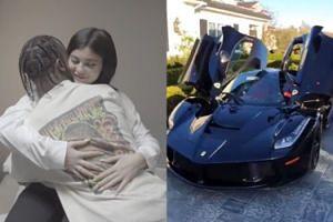 Kylie Jenner dostała od Travisa Scotta auto za 4,8 MILIONA ZŁOTYCH