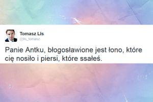 Tomasz Lis wyśmiewa Macierewicza