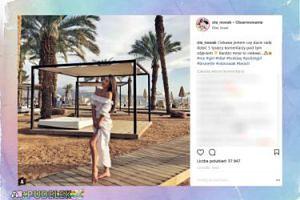 Influencerka Ola Nowak pręży się w Izraelu