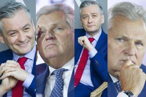 Ucieszony Biedroń i zmartwiony Kwaśniewski dyskutują o Europie (ZDJĘCIA)