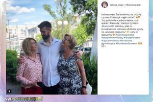 Mentorka Tatiana z mamą i synem
