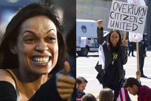 Aktorka Rosario Dawson została aresztowana za protestowanie pod Kapitolem!