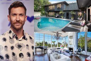 Calvin Harris na święta kupił sobie... dom w Los Angeles za równowartość 20 MILIONÓW złotych! (ZDJĘCIA)