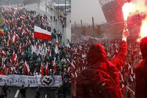 """""""Polska bastionem Europy"""". Tak wyglądał marsz narodowców w Warszawie!"""