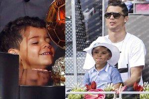 Synek Cristiano Ronaldo wciąż NIE ZNA SWOJEJ MATKI!