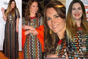 Kate Middleton czy Drew Barrymore? (ZDJĘCIA)