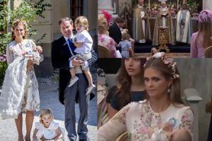 Szwedzka księżniczka Eleonora TARZA SIĘ na podłodze kościoła (WIDEO)