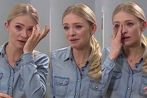 """Kurdej-Szatan PŁACZE w telewizji: """"Dalej będziesz mnie kochał, jak tak będę wyglądać?"""""""
